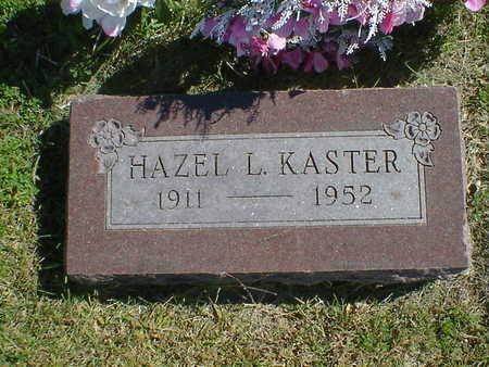 KASTER, HAZEL L. - Cerro Gordo County, Iowa | HAZEL L. KASTER