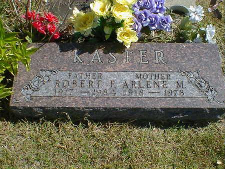 KASTER, ROBERT F. - Cerro Gordo County, Iowa | ROBERT F. KASTER