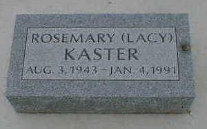 KASTER, ROSEMARY - Cerro Gordo County, Iowa | ROSEMARY KASTER