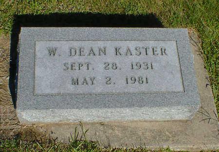KASTER, W. DEAN - Cerro Gordo County, Iowa | W. DEAN KASTER
