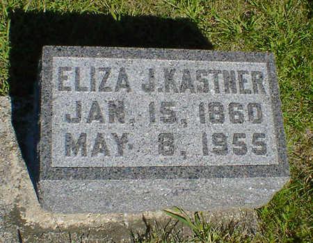 KASTNER, ELIZA J. - Cerro Gordo County, Iowa   ELIZA J. KASTNER