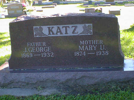 KATZ, MARY U. - Cerro Gordo County, Iowa | MARY U. KATZ