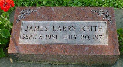 KEITH, JAMES LARRY - Cerro Gordo County, Iowa | JAMES LARRY KEITH