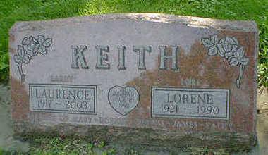 KEITH, LAURENCE - Cerro Gordo County, Iowa | LAURENCE KEITH