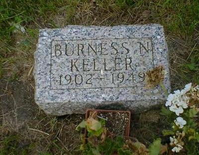 KELLER, BURNESS N. - Cerro Gordo County, Iowa   BURNESS N. KELLER