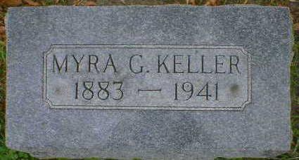 KELLER, MYRA G. - Cerro Gordo County, Iowa | MYRA G. KELLER