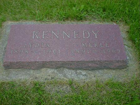 KENNEDY, MERLE - Cerro Gordo County, Iowa   MERLE KENNEDY