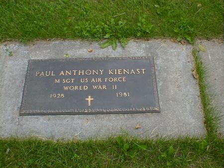 KIENAST, PAUL ANTHONY - Cerro Gordo County, Iowa | PAUL ANTHONY KIENAST