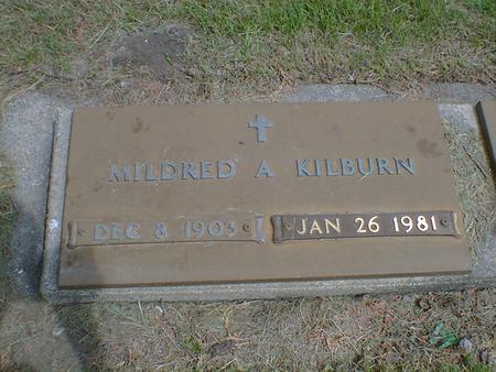 KILBURN, MILDRED A. - Cerro Gordo County, Iowa | MILDRED A. KILBURN