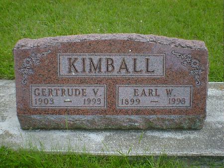KIMBALL, GERTRUDE V. - Cerro Gordo County, Iowa | GERTRUDE V. KIMBALL