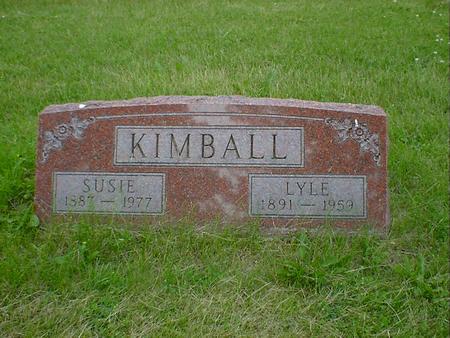 KIMBALL, LYLE OTIS - Cerro Gordo County, Iowa | LYLE OTIS KIMBALL