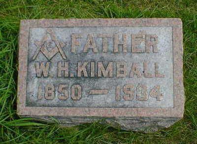 KIMBALL, W. H. - Cerro Gordo County, Iowa | W. H. KIMBALL