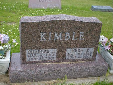 KIMBLE, VERA P. - Cerro Gordo County, Iowa | VERA P. KIMBLE