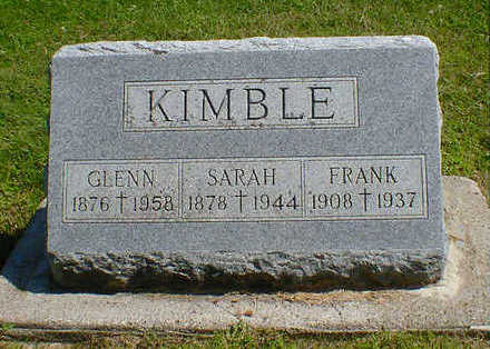 KIMBLE, FRANK - Cerro Gordo County, Iowa | FRANK KIMBLE