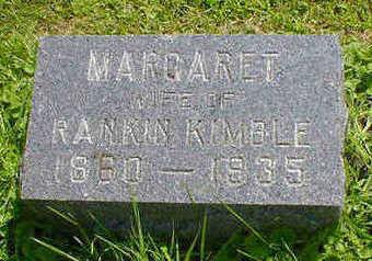 KIMBLE, MARGARET - Cerro Gordo County, Iowa   MARGARET KIMBLE