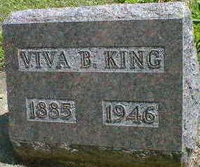 KING, VIVA B. - Cerro Gordo County, Iowa   VIVA B. KING