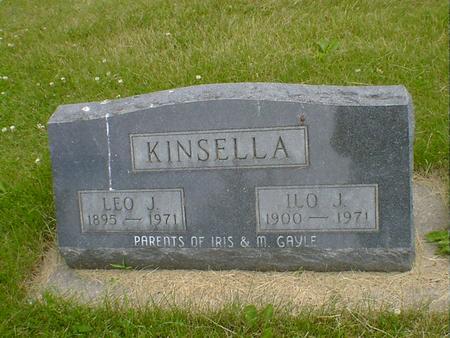 KINSELLA, LEO J. - Cerro Gordo County, Iowa | LEO J. KINSELLA