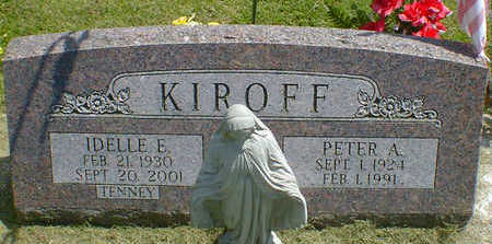 KIROFF, PETER A. - Cerro Gordo County, Iowa | PETER A. KIROFF