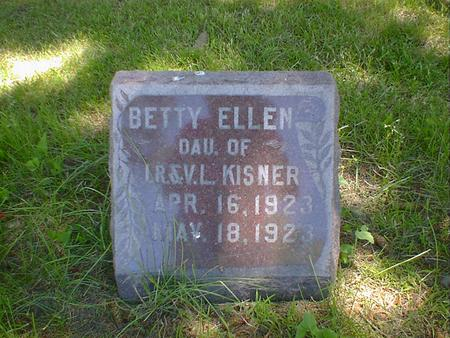 KISNER, BETTY ELLEN - Cerro Gordo County, Iowa | BETTY ELLEN KISNER