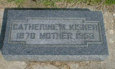 KISNER, CATHERINE M. - Cerro Gordo County, Iowa   CATHERINE M. KISNER