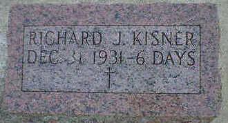 KISNER, RICHARD J. - Cerro Gordo County, Iowa | RICHARD J. KISNER