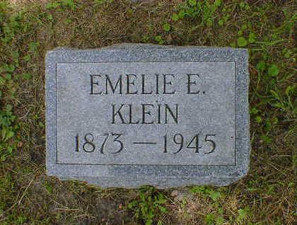 KLEIN, EMELIE E. - Cerro Gordo County, Iowa | EMELIE E. KLEIN
