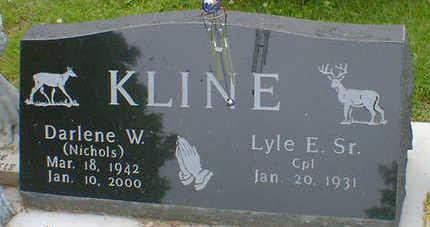 NICHOLS KLINE, DARLENE W. - Cerro Gordo County, Iowa | DARLENE W. NICHOLS KLINE