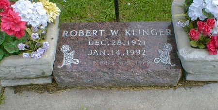 KLINGER, ROBERT W. - Cerro Gordo County, Iowa   ROBERT W. KLINGER