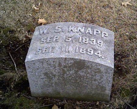 KNAPP, W.S. - Cerro Gordo County, Iowa | W.S. KNAPP