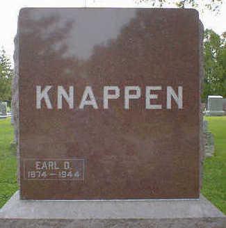 KNAPPEN, EARL D. - Cerro Gordo County, Iowa | EARL D. KNAPPEN