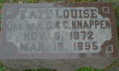KNAPPEN, KATE LOUISE - Cerro Gordo County, Iowa | KATE LOUISE KNAPPEN
