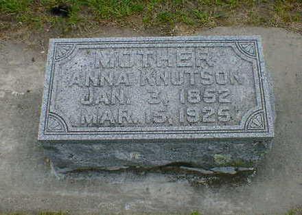 KNUTSON, ANNA - Cerro Gordo County, Iowa | ANNA KNUTSON