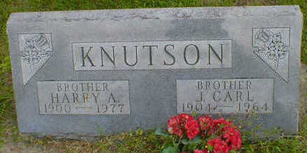 KNUTSON, HARRY A. - Cerro Gordo County, Iowa | HARRY A. KNUTSON