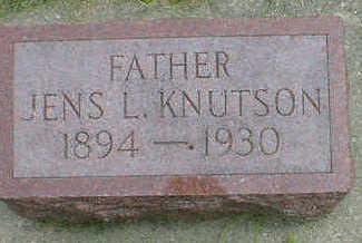 KNUTSON, JENS L. - Cerro Gordo County, Iowa | JENS L. KNUTSON