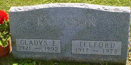 KNUTSON, GLADYS E. - Cerro Gordo County, Iowa | GLADYS E. KNUTSON