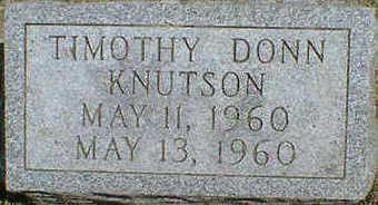 KNUTSON, TIMOTHY DONN - Cerro Gordo County, Iowa | TIMOTHY DONN KNUTSON