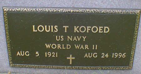 KOFOED, LOUIS THEODORE - Cerro Gordo County, Iowa | LOUIS THEODORE KOFOED