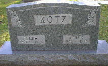 KOTZ, TILDA - Cerro Gordo County, Iowa   TILDA KOTZ
