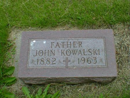 KOWALSKI, JOHN - Cerro Gordo County, Iowa   JOHN KOWALSKI