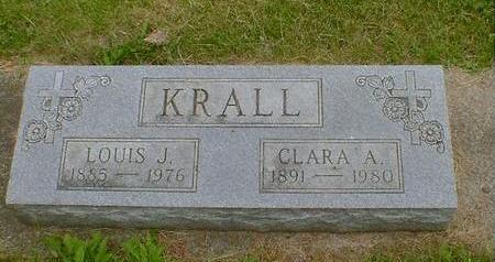 KRALL, LOUIS J. - Cerro Gordo County, Iowa | LOUIS J. KRALL
