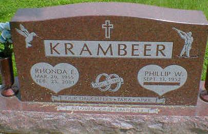 KRAMBEER, RHONDA E. - Cerro Gordo County, Iowa   RHONDA E. KRAMBEER