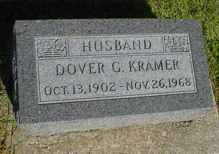 KRAMER, DOVER G. - Cerro Gordo County, Iowa | DOVER G. KRAMER