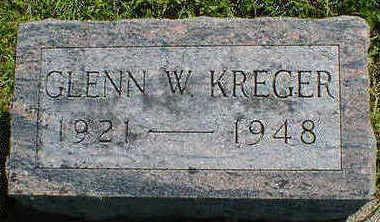 KREGER, GLENN W. - Cerro Gordo County, Iowa | GLENN W. KREGER