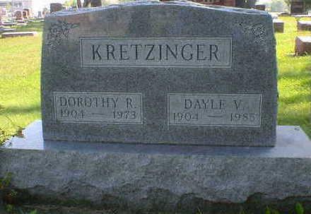 KRETZINGER, DAYLE V. - Cerro Gordo County, Iowa | DAYLE V. KRETZINGER
