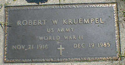 KRUEMPEL, ROBERT W. - Cerro Gordo County, Iowa | ROBERT W. KRUEMPEL