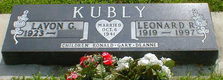 KUBLY, LEONARD R. - Cerro Gordo County, Iowa | LEONARD R. KUBLY