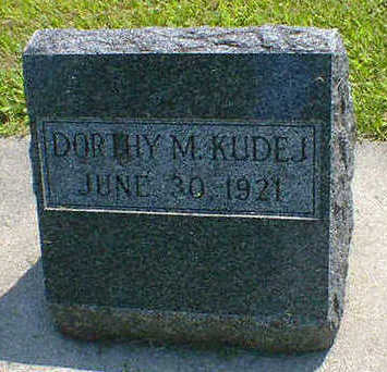 KUDEJ, DORTHY M. - Cerro Gordo County, Iowa   DORTHY M. KUDEJ