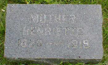 KUTZNER, HENRIETTE - Cerro Gordo County, Iowa   HENRIETTE KUTZNER