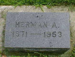 KUTZNER, HERMAN A. - Cerro Gordo County, Iowa | HERMAN A. KUTZNER