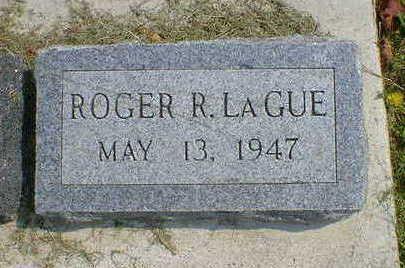 LA GUE, ROGER R. - Cerro Gordo County, Iowa | ROGER R. LA GUE
